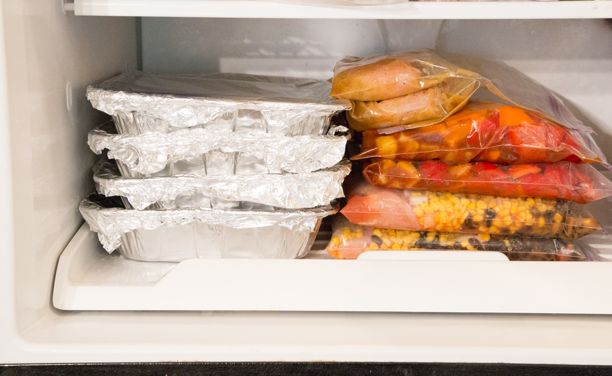 Freezer Space Saver - Flat Freezing
