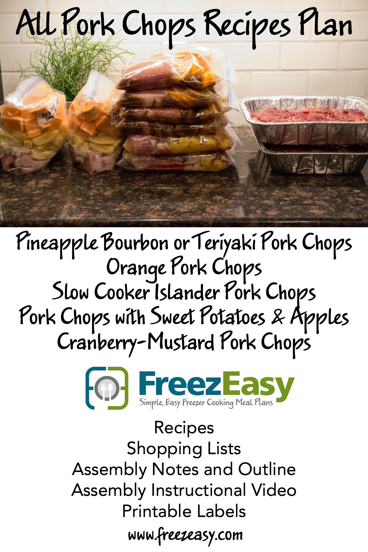 FreezEasy All Pork Chops Details