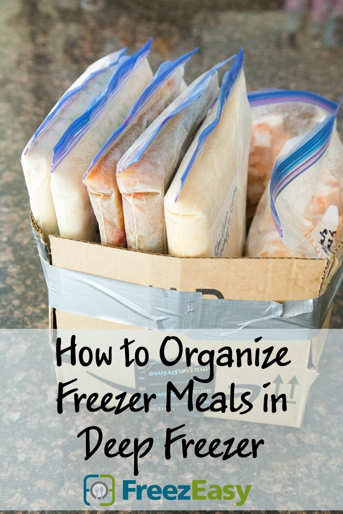 How to Organize Freezer Meals in Deep Freezer