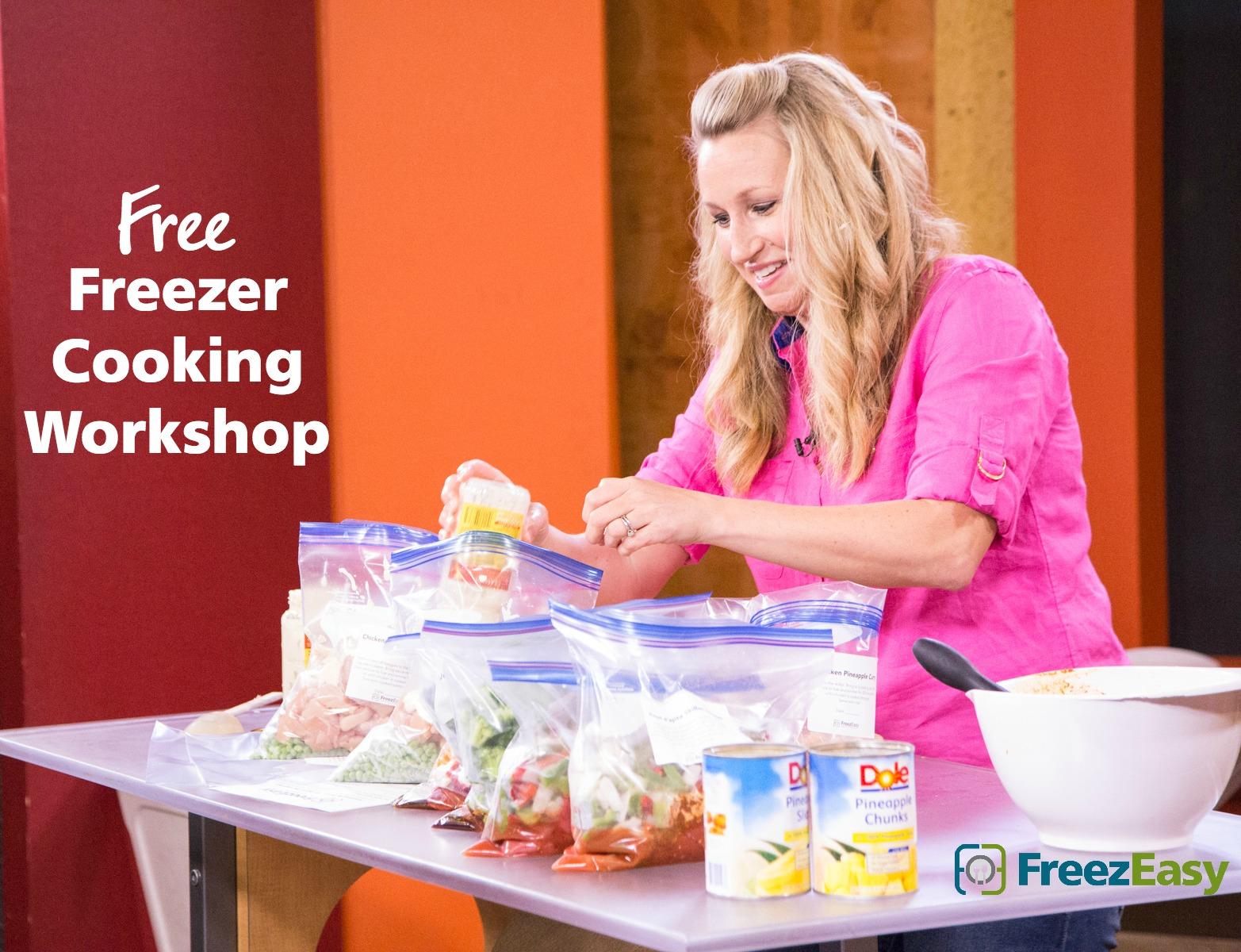 Freezer Cooking Workshop